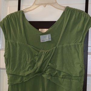 Athleta green stretchy and very forgiving cover up